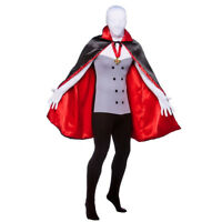 ADULTS VAMPIRE SKIN COSTUME ALL IN ONE WITH CAPE HALLOWEEN DRACULA FANCY DRESS