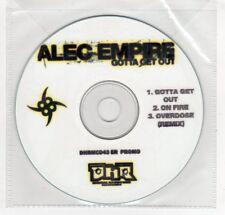 (GN902) Alec Empire, Gotta Get Out - DJ CD