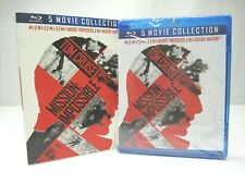Mission Impossible Ultimate Collection Blu-ray 5 Movies Rogue Nation Cruise NEW