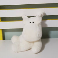 WHITE MOOSE BEANIE TOY SOFT TOY 18CM TALL LOVELY PLUSH TOY! WORKIN IT!