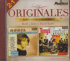 Abril y Tonys Twist Team 2 En 1 Los Originales New Nuevo Sealed