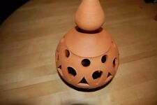 New Beautiful Terra Cotta Hanging Lampshade Imported from Portugal