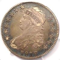 1818 Capped Bust Half Dollar 50C - PCGS XF40 (EF40) - Rare Certified Coin