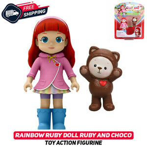 Rainbow Ruby Doll Ruby and Choco Toy Action Figurine Original Rare Sealed New