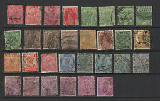 1910-30 INDE ANGLAISE Georges V 30 timbres anciens / T1479
