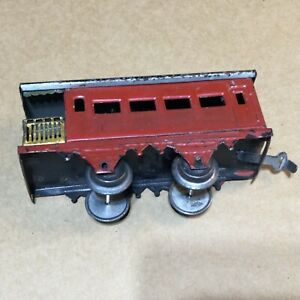 VINTAGE MADE IN GERMANY O SCALE OBSERVATION CAR