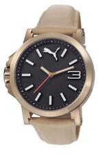 PUMA reloj Ultrasize LDS Beige PU103462005 Análogo Cuero Beige