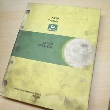 John Deere 7520 Tractor Spare Parts Catalog Manual List Book Spare 1990 Engine