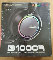 ABKONCORE B1000R Gaming Headset with True 5.2 Surround Sound for PC Laptop