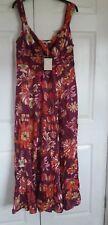 Debenhams floral maxi dress size 14 BNWT