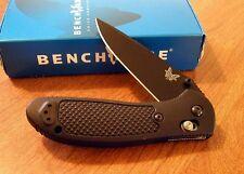 BENCHMADE New Griptilian Black Plain Edge 154CM Blade Knife/Knives