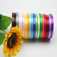 "Sale High Quality New 3/8"" 5/8"" 25 Yards Double and Sided Satin Ribbon Hot Sale"