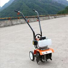 Benzina Motozappa Zappatrice A Scoppio Da 52cc Potente Coltivatore Rotavatore