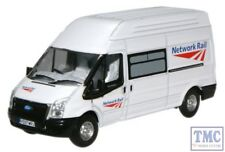 76FT005 Oxford Diecast Ford Transit Network Rail 1/76 Scale OO Gauge