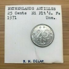 1971 25 CENTS NETHERLANDS ANTILLES
