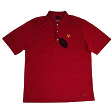 New Greg Norman Ml75 Performance PlayDry Golf Shirt Color: Red Size: X Large