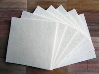 """Kiln Shelf Paper 16 Sheets 9 X 12"""" • 1mm • Firing Temp Up To 2300°f Glass Fusing"""