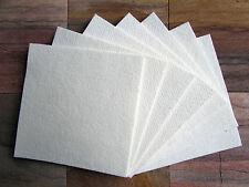 """Kiln Shelf Paper 10 Sheets 6 X 6"""" • 1mm • Firing Temps Up To 2300°f Glass Fusing"""