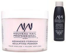 Nouveau Nail liquido acrilico 4oz & Polvere Rosa Chiaro 20g false Punte STARTER KIT