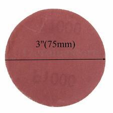 Sanding Discs 75mm 3 inch 60 80 120 240 400 Mixed Grit DA Sander Pads -5 pack