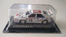 CITROEN BX 4TC 1986 ORIGINALE de agostini modello rally auto in scatola Zo
