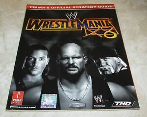 WWE WrestleMania X8 Strategy Guide for Nintendo GameCube