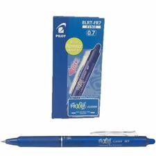Pilot Blue Frixion Clicker Retractable Fine Rollerball Erasable Pens Pen 0.7mm