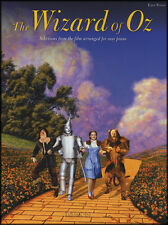 The Wizard of Oz Easy Piano Sheet Music Book Over The Rainbow