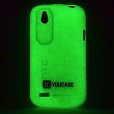HTC Desire X Day'n'Night Glow Case Silicone TPU Sleeve Cover Protection Green A9