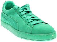 Puma Suede Classic Ice Mix  Casual  Neutral Sneakers - Green - Mens