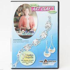 Secrets to Art Clay Success Tamara Honaman DVD Fire Mountain Gems and Beads
