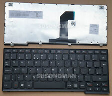 New UK Replacement Keyboard For Lenovo IdeaPad yoga11 yoga 11 Laptop Black Frame