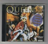 QUEEN  LIVE IN CONCERT - WE WILL ROCK YOU - Rare Disc VCD  Video Cd - 90 MINUTES