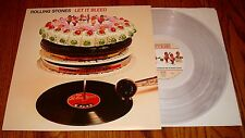 THE ROLLING STONES LET IT BLEED LIMITED EDITION CLEAR COLORED VINYL LP ~ 2002