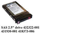 """HP 36GB SAS 15K 2.5"""" HDD 431933-B21 432322-001 418373-006 431930-001 418373-005"""