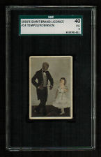 SGC 3  SHIRLEY TEMPLE and BILL ROBINSON  1935 Giant Brand Candy Cigarette Card