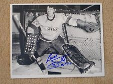 H.O.F. BILLY SMITH 8 X 10 AUTOGRAPH RARE SHOT WITH KINGS W/COA