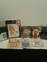 Lot Of Counted Cross Stitch Projects