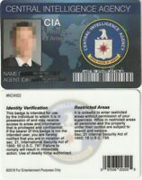 X-Files / Area 51 type  novelty movie prop Drivers License fake ID card