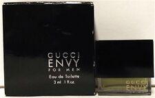 Gucci Envy .10 oz Mini Pack for Men Eau De Toilette Splash Rare Brand New