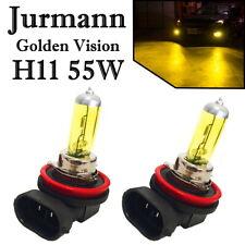 2x Jurmann H11 55W 12V Golden Vision Gelb Ersatz Scheinwerfer Halogen Auto Lampe