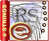 4 x RockSkool guitar e strings 12 FREE PICKS plectrums