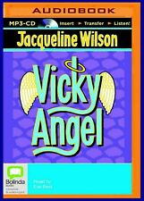 Vicky Angel by Jacqueline Wilson Unabridged MP3 CD Audiobook 2015 NEW
