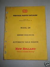 New Holland 2M Model Automatic Bale Wagon Parts Catalog