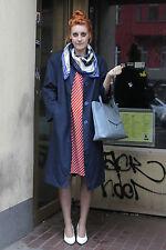 VEB ritrovo modelli Berlino CAPPOTTO DA DONNA COAT BLU BLUE 70er True Vintage 70´s Women