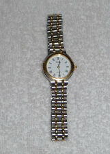 Genuine Montine 2000 Ladies 2-Tone Silver Gold Stainless Steel Strap Swiss Watch