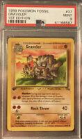 1999 Graveler 1st Edition Pokemon Fossil PSA 9 Non Holo Base