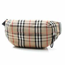 Burberry Sonny Vintage Check Belt Bag Plaid