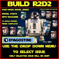 DeAgostini: Build Your Own R2D2 Part-Work Model / Magazine Series (Select Issue)