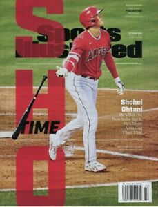 Sports Illustrated October 2021 - Shohei Ohtani Los Angeles Angels The Hitter